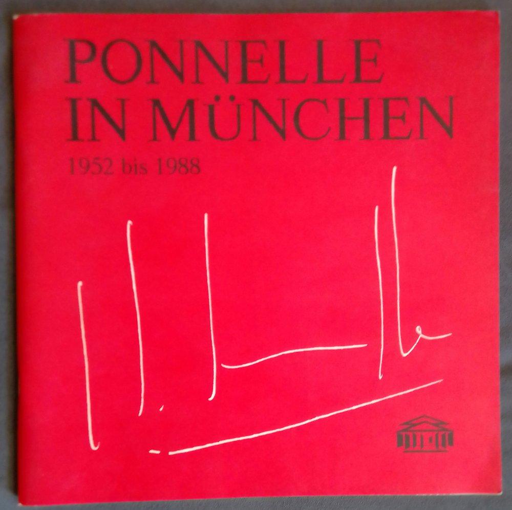 PONNELLE IN MÜNCHEN 1952 bis 1988  Ausstellung im Nationaltheater München