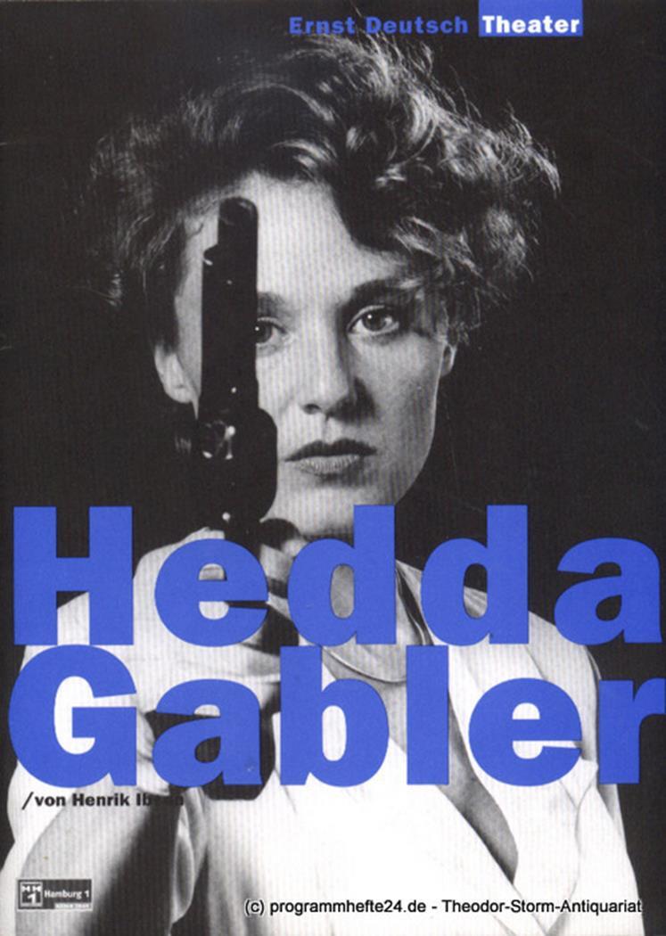 Programmheft Hedda Gabler von Henrik Ibsen. Premiere 2. Oktober 1997. Spielzeit