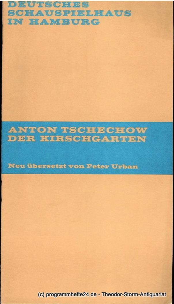 Programmheft Der Kirschgarten. Komödie von Anton Tschechow. Premiere 17. Juni 19