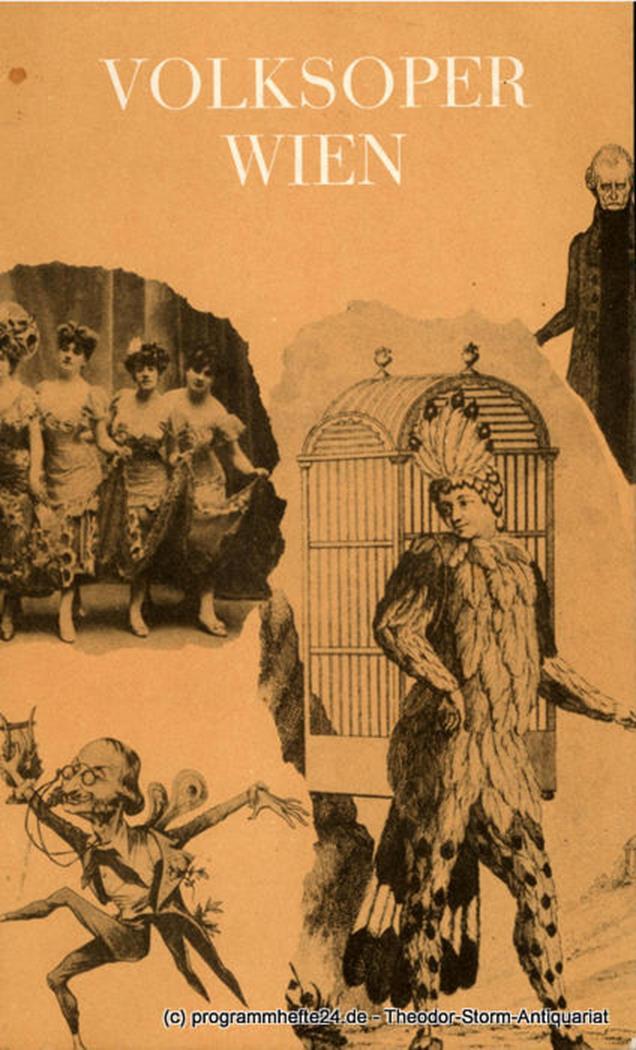 Programmheft DIE CSARDASFÜRSTIN. Premiere 27. Juni 1966 Volksoper Wien