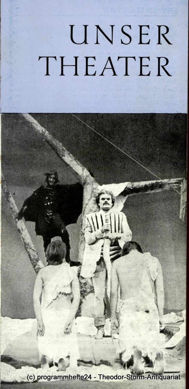 Programmheft Unser Theater Februar / März 1980. Stadttheater Freiberg