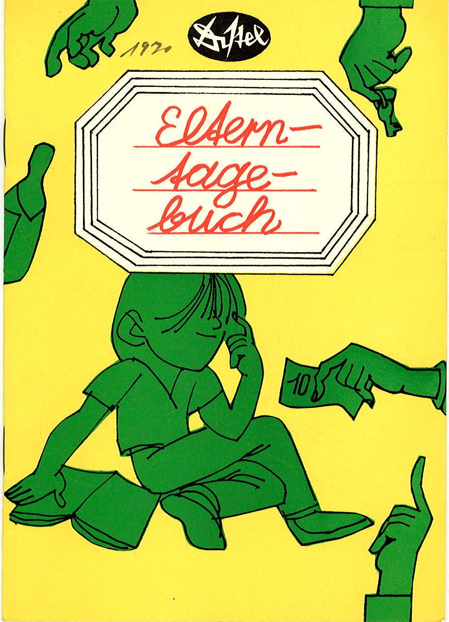 Programmheft Lernt heiter Genossen ! DISTEL Das Berliner Kabarett 1970