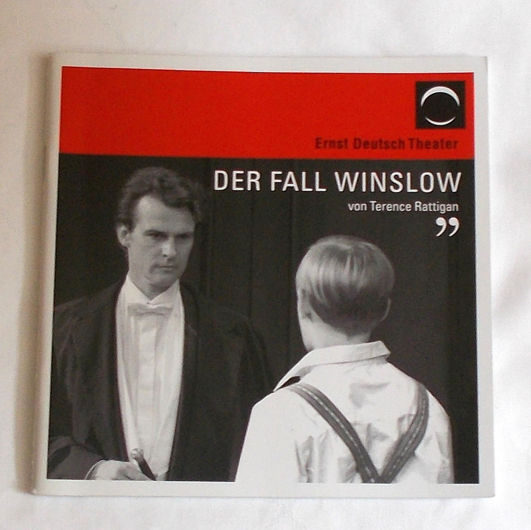 Programmheft Der Fall Winslow von Terence Rattigan. Ernst Deutsch Theater 2008