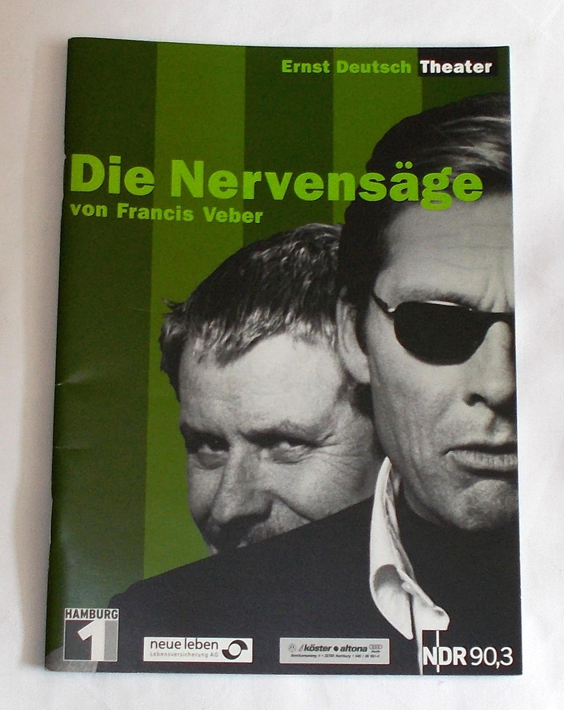 Programmheft Die Nervensäge von Francis Weber. Ernst Deutsch Theater 2003