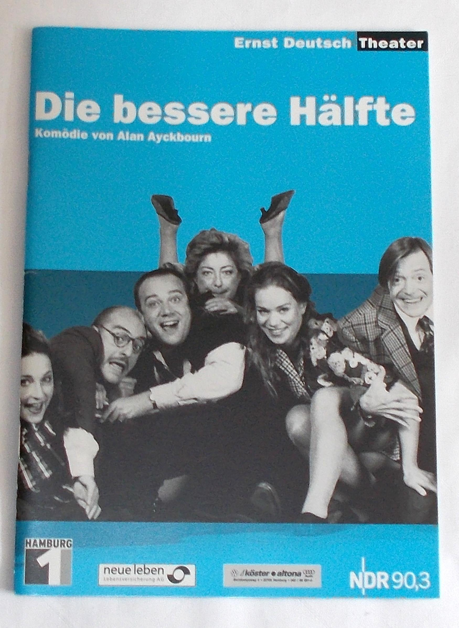 Programmheft Die bessere Hälfte von Alan Ayckbourn. Ernst Deutsch Theater 2002