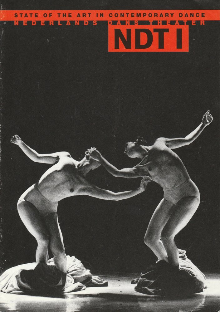Programmheft NEDERLANDS DANS THEATER Staatstheater Stuttgart 2000