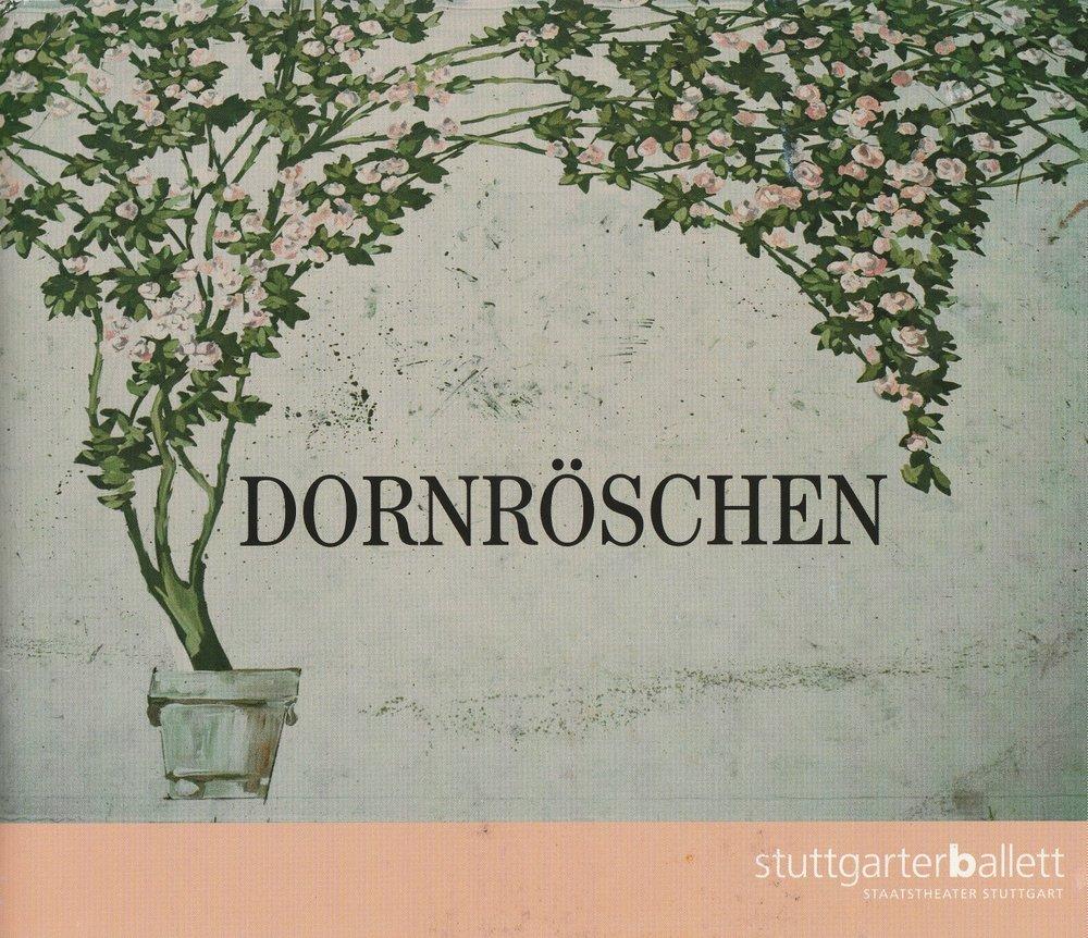 Programmheft DORNRÖSCHEN Stuttgarter Ballett 2000