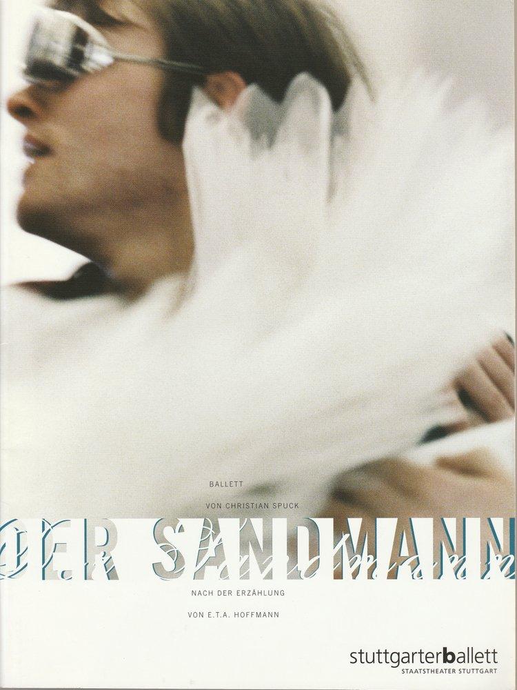 Programmheft Uraufführung Ballett DER SANDMANN Stuttgarter Ballett 2006