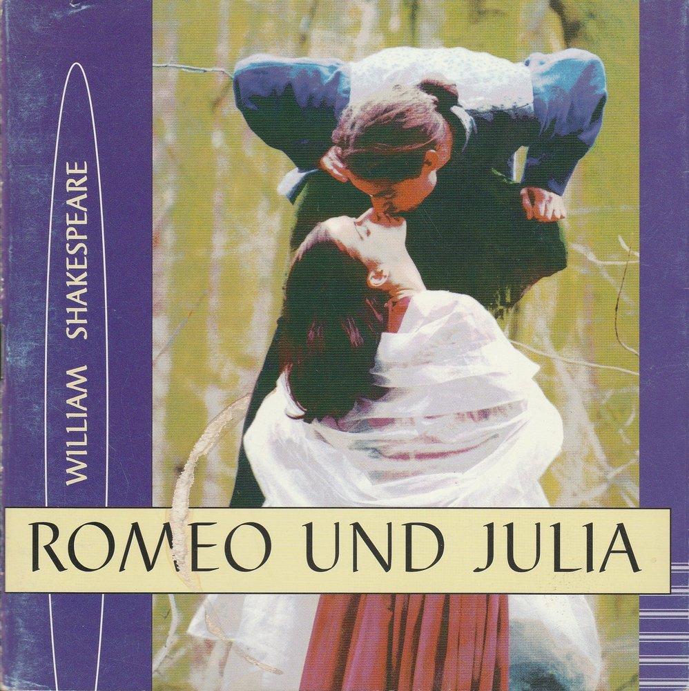 Programmheft William Shakespeare ROMEO UND JULIA Bühnen Schwedt 2000