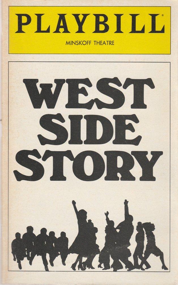 Programmheft WEST SIDE STORY November 1980 Playbill, MINSKOFF THEATRE