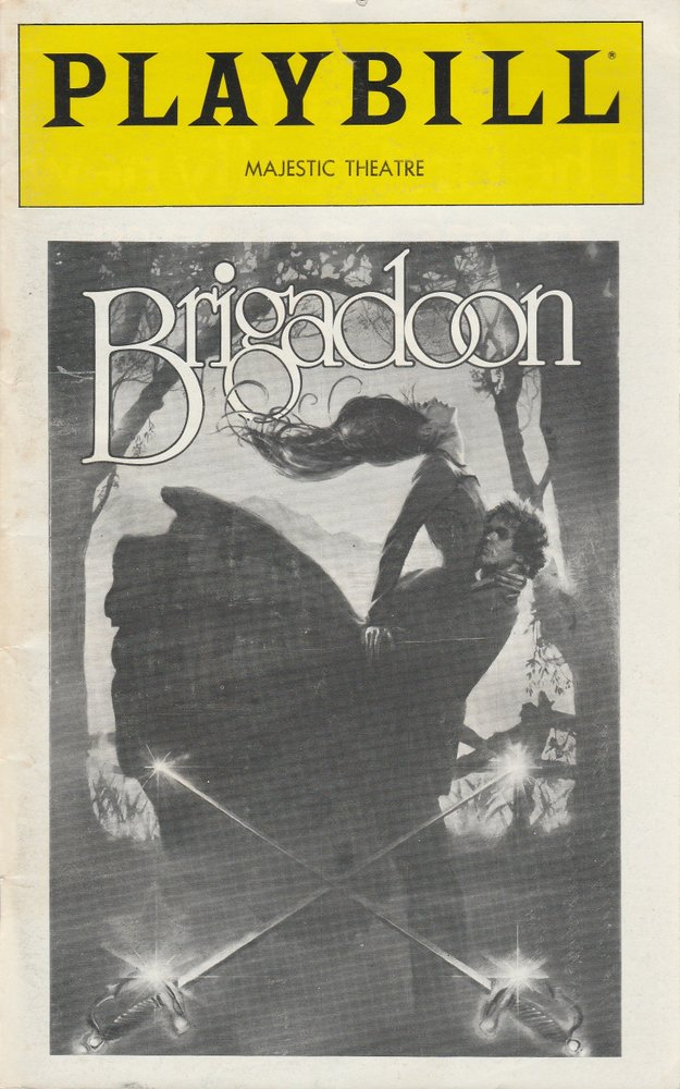 Lerner and Loewe´s BRIGADOON December 1980 Playbill, MAJESTIC THEATRE