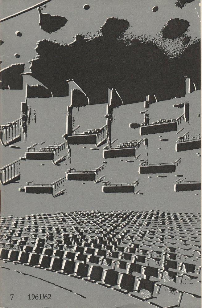 Programmheft Giuseppe Verdi AIDA Bühnen der Stadt Köln 1962