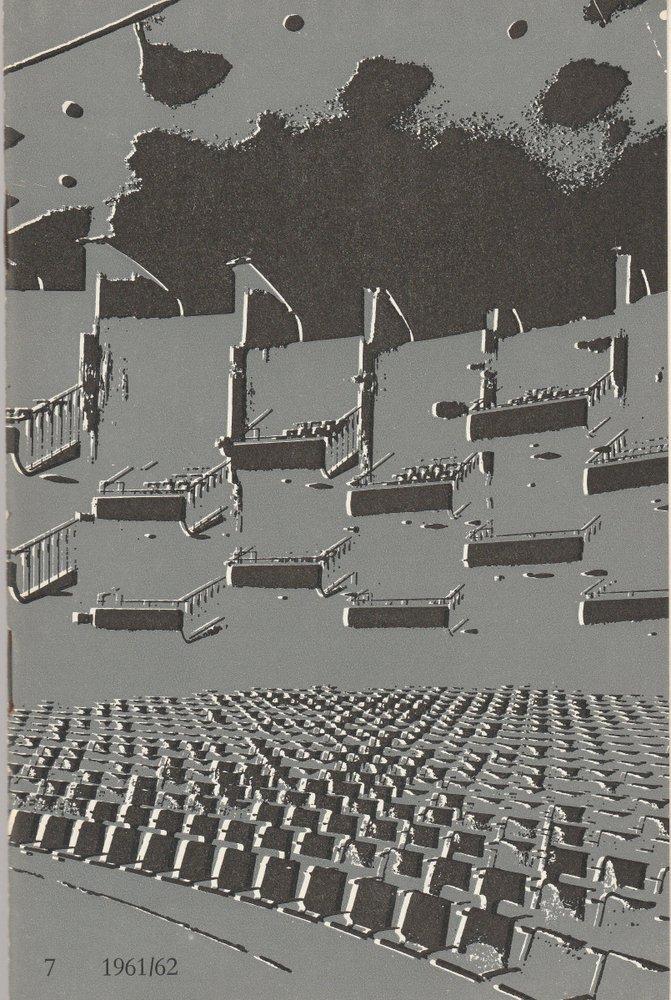 Programmheft Giuseppe Verdi DIE MACHT DES SCHICKSALS Bühnen Köln 1962