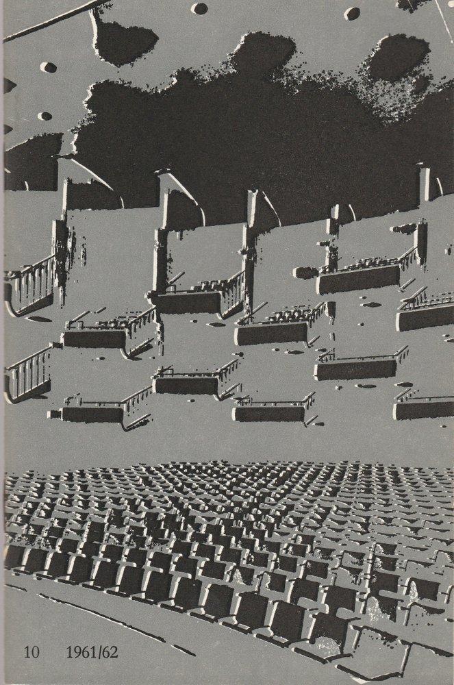 Programmheft Richard Wagner DAS RHEINGOLD Bühnen der Stadt Köln 1962