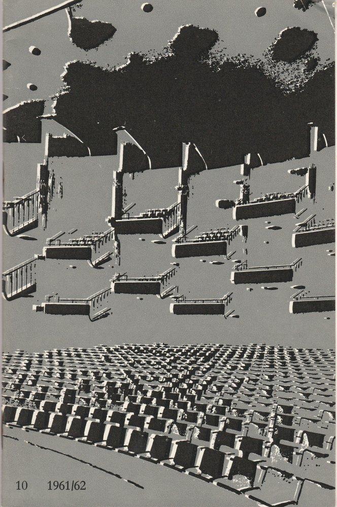 Programmheft Richard Wagner DER FLIEGENDE HOLLÄNDER Bühnen Köln 1962