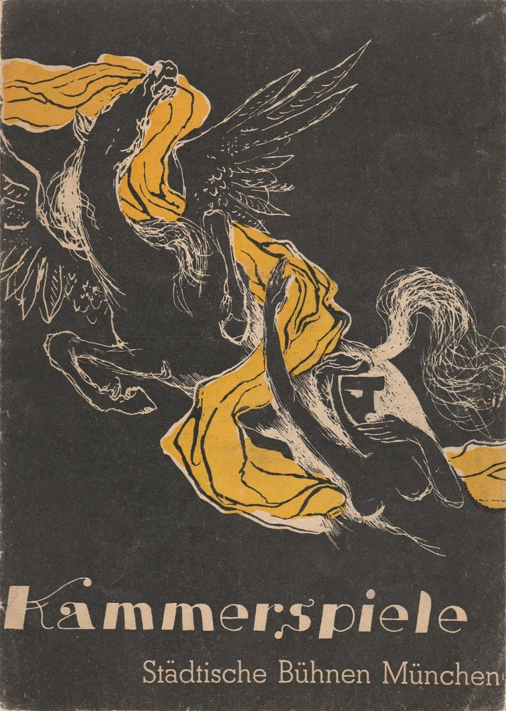 Programmheft KAMMERSPIELE Heft 5 / 6 März / April 1949