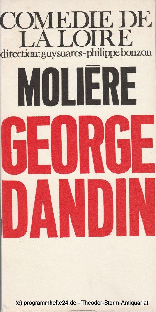Programmheft Moliere: George Dandin Comedie de la Loire 1970