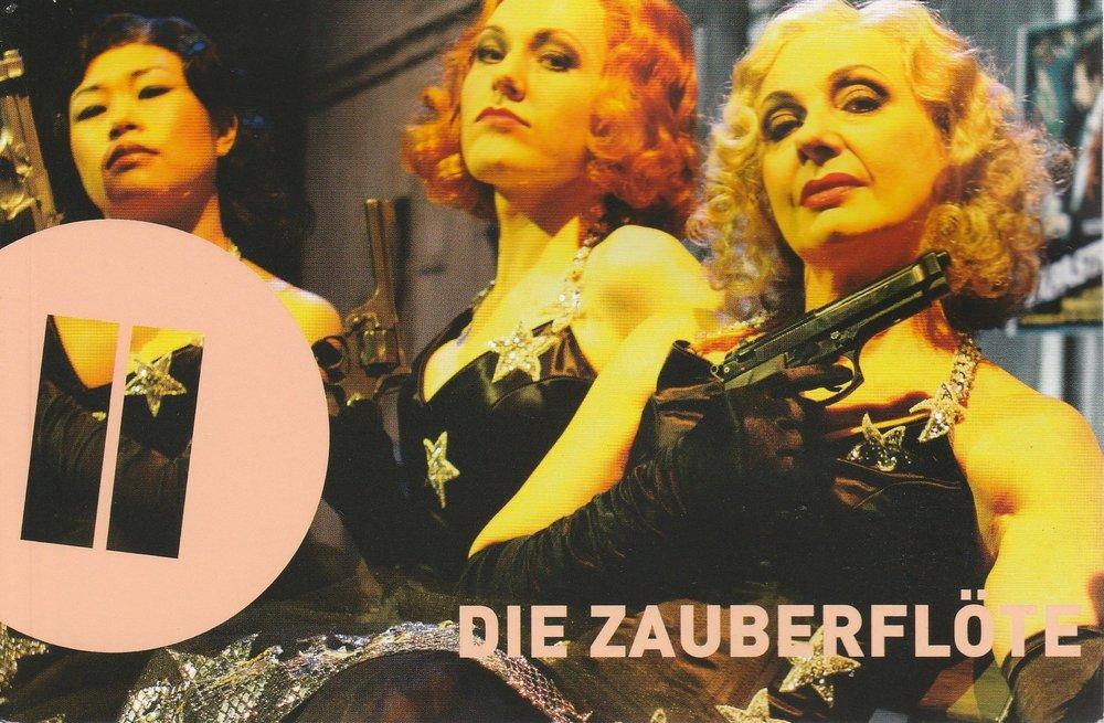 Programmheft DIE ZAUBERFLÖTE Theater Heidelberg 2009