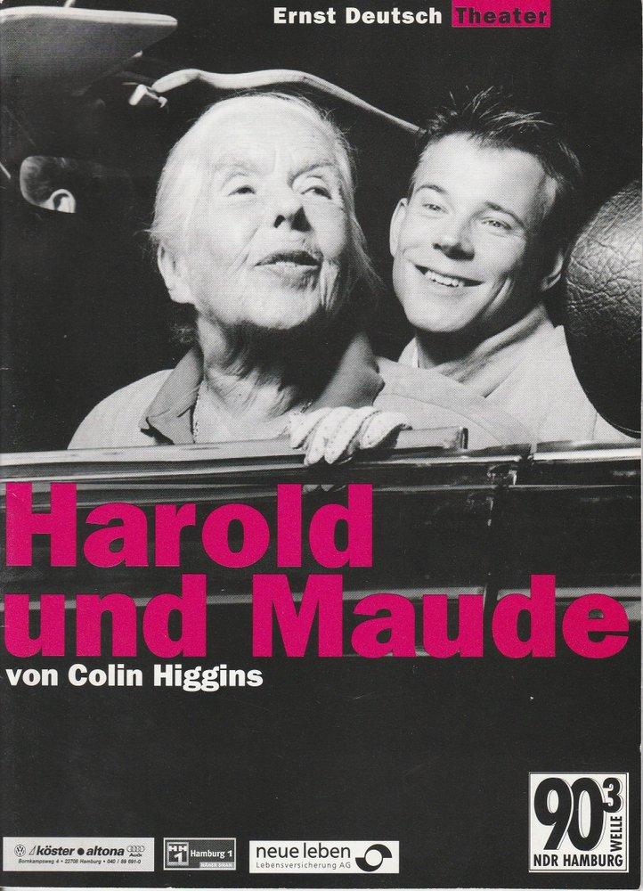 Programmheft Harold und Maude Ernst Deutsch Theater 1999