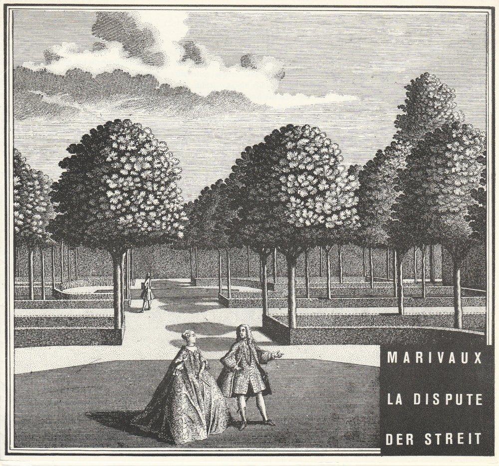 Programmheft DER STREIT Komödie von Pierre de Marvaux Potsdam 1986