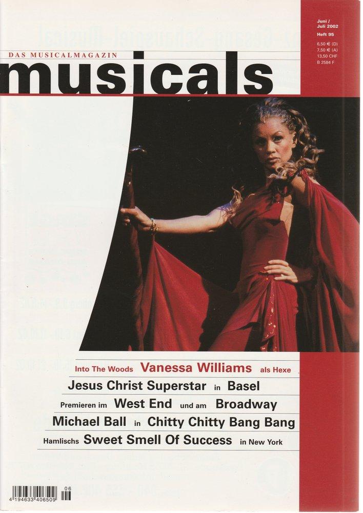 musicals Das Musicalmagazin Juni / Juli 2002 Heft 95