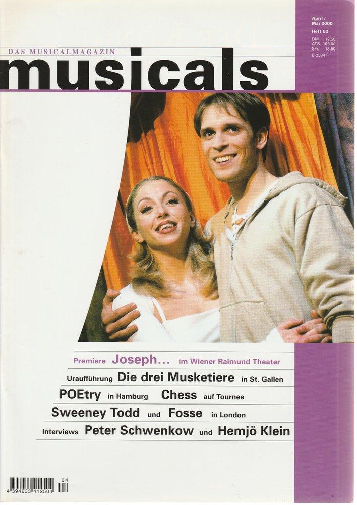 musicals Das Musicalmagazin April / Mai 2000 Heft 82
