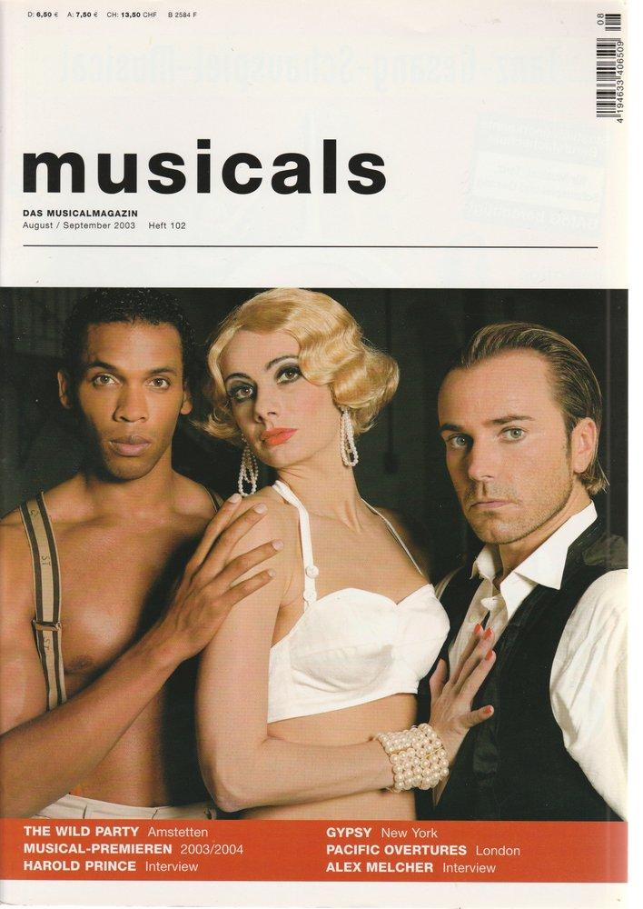musicals Das Musicalmagazin August / September 2003 Heft 102