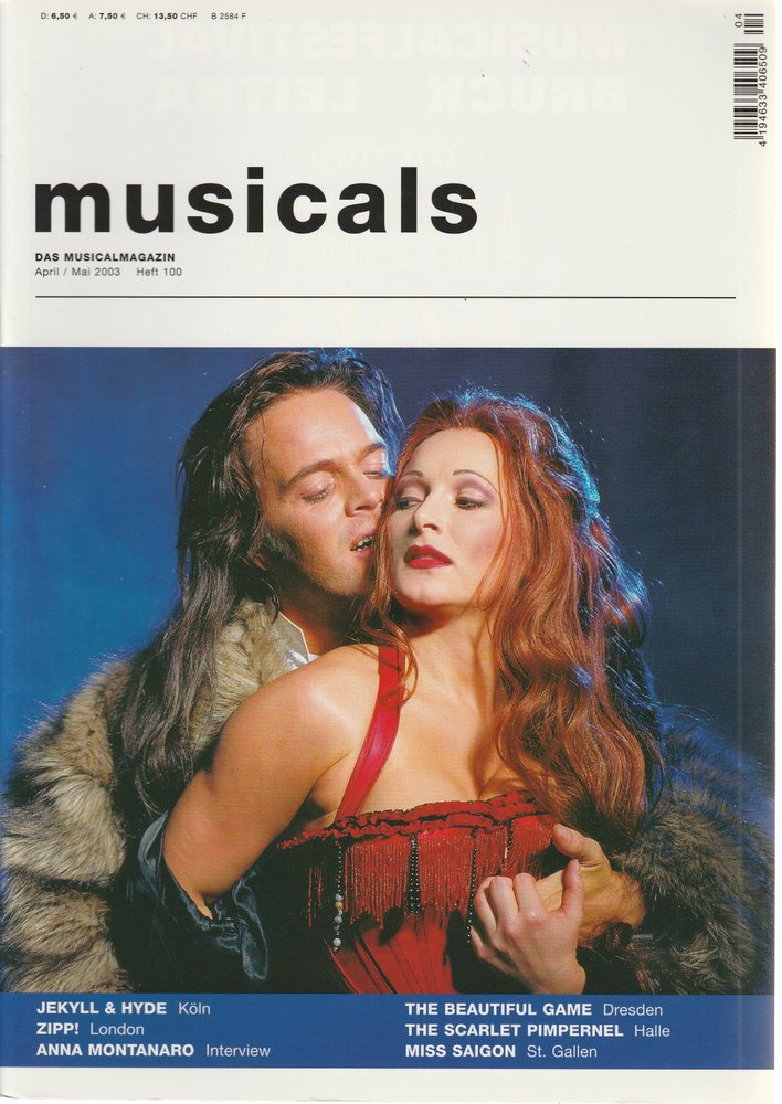 musicals Das Musicalmagazin April / Mai 2003 Heft 100