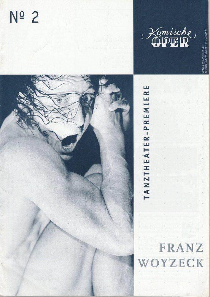 Zeitung der Komischen Oper Dezember 96 / Januar 97 Spielzeit 1996 / 97 No 2