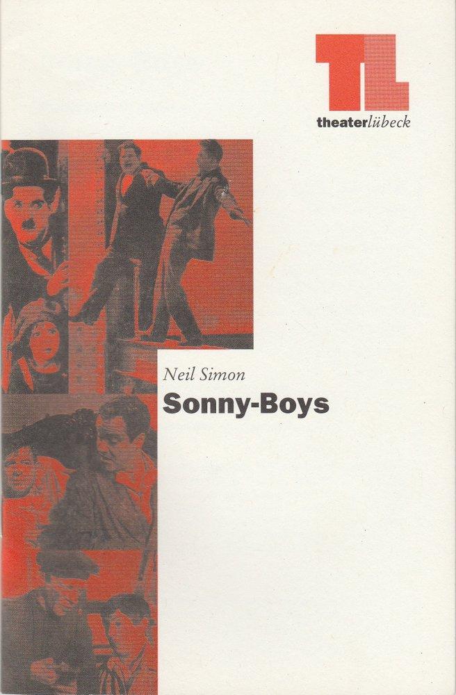Programmheft Neil Simon SONNY-BOYS Theater Lübeck 1996