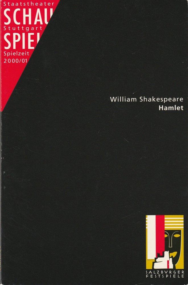 Programmheft William Skakespeare HAMLET Schauspiel Staatstheater Stuttgart 2000