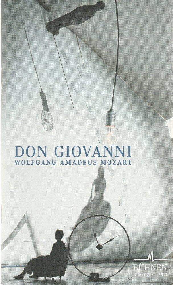 Programmheft Wolfgang Amadeus Mozart DON GIOVANNI Bühnen Köln 2002